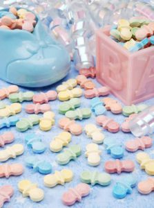 baby shower candy pacifier