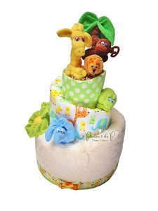 diaper-cakes-for-a-baby-shower