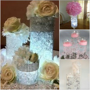 Diy Baby Shower Centerpieces