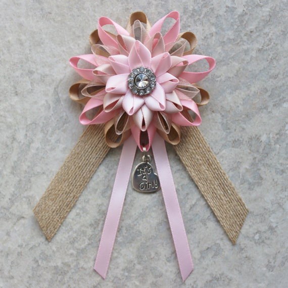 cute baby shower corsage