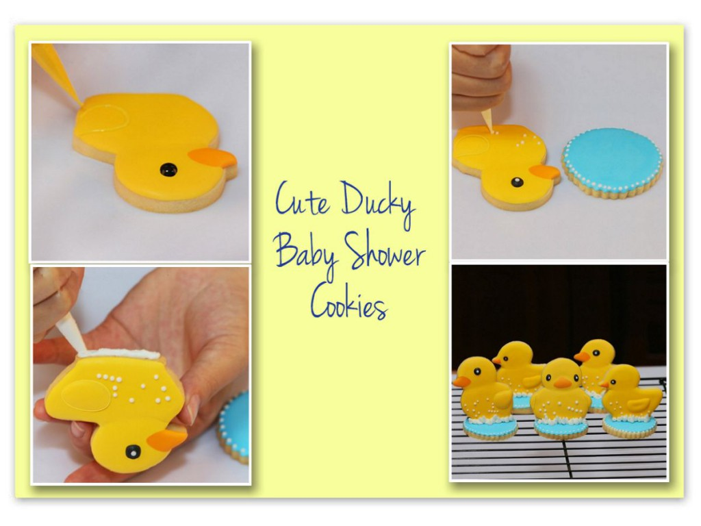 Amazing rubber ducky baby shower supplies ideas baby shower ducky baby shower cookies filmwisefo