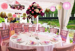 extravagant baby shower