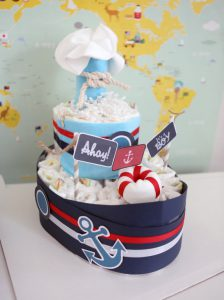 Nautical Baby Shower Centerpiece
