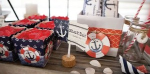 nautical theme baby shower decorations