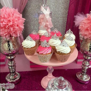 princess baby shower cupcakes