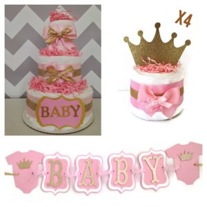 Princess Baby Shower Decoration Bundle