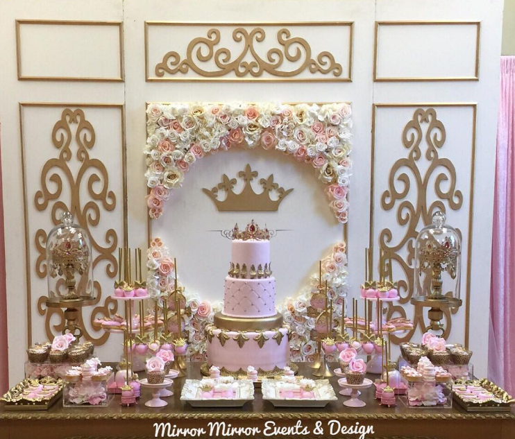 princess baby shower decoration ideas