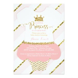 Tons of amazing princess baby shower decorations ideas baby shower princess baby shower invitations gold pink filmwisefo
