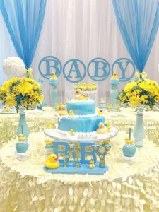 rubber ducky baby shower supplies