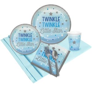 twinkle twinkle little star baby shower tableware