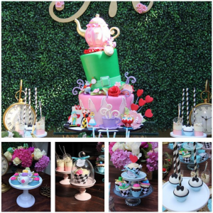 baby shower tea party ideas