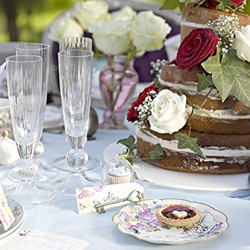 tea party baby shower paper plates