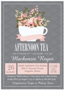 tea_party_baby_shower_invitation card