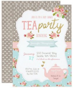 Tea Party Baby Shower Invitations Invitation Card1 TEA PARTY BABY SHOWER INVITATIONS