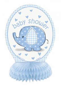 elephant baby shower centerpiece