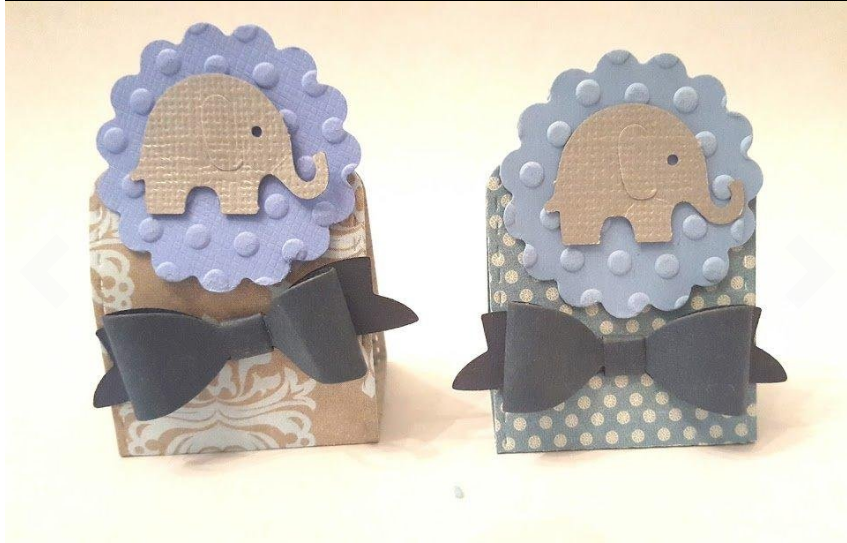 elephant baby shower favors