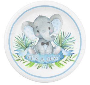 Cute Elephant Themed Baby Shower Decorations And More Baby Shower