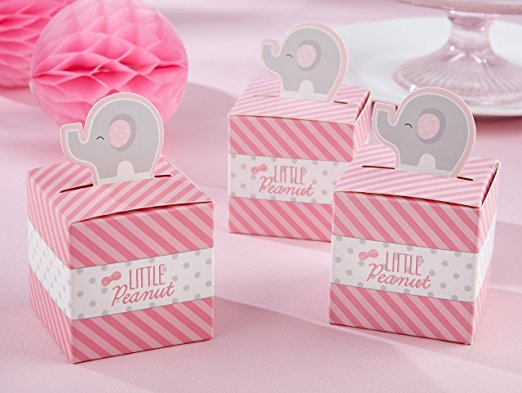 little peanut elephant baby shower favors