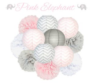 Cute Elephant Themed Baby Shower Decorations And More