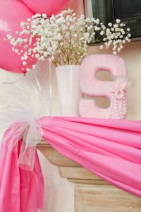 pink baby shower decoration ideas