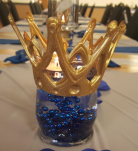 Superb Royal Prince Baby Shower Centerpiece
