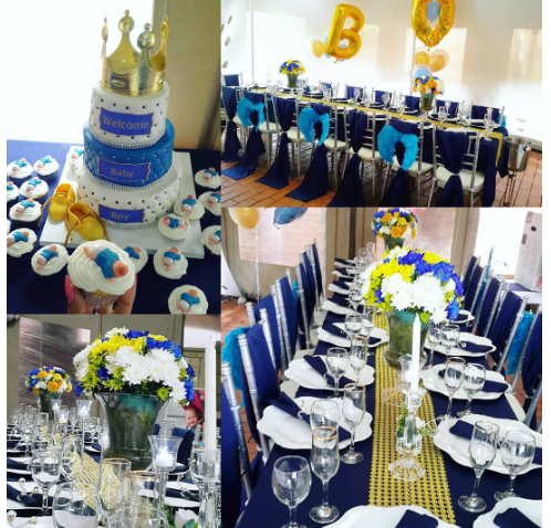 royal princess baby shower decorations