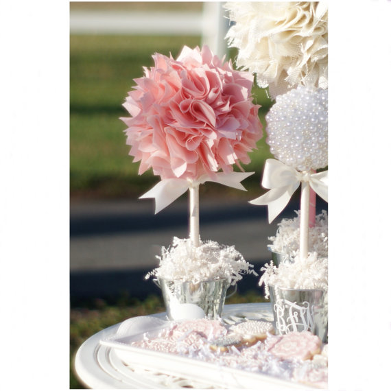 baby shower centerpiece for girl