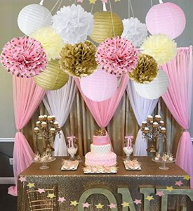baby shower decoration kits for girls