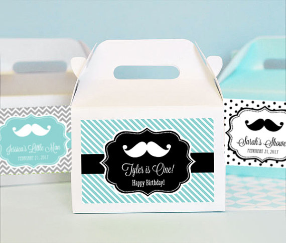 baby shower little man favors