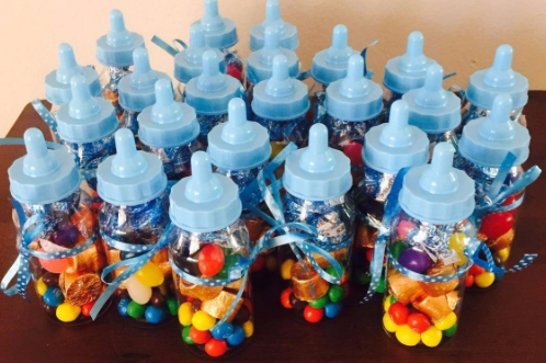cheap baby shower bottle favors