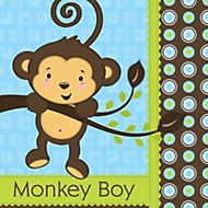 Monkey-Boy-Baby-Shower-Theme