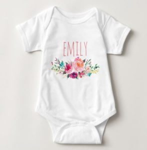 personalized baby girl clothing