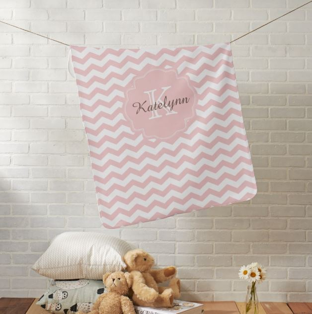 personalized baby blankets for girls